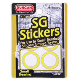 Duncan SG Stickers - Small Bearing