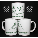 CLYW 'Greetings from Camp Caribou' Coffee Mug